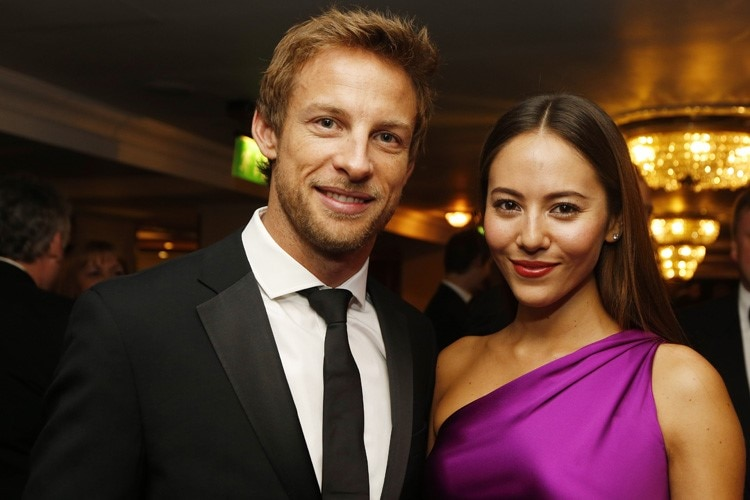 Button mit Partnerin Jessica Michibata