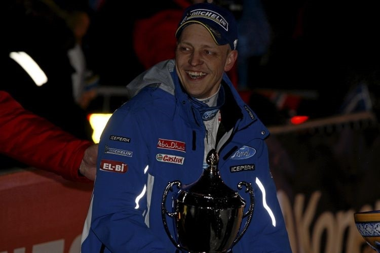 Hirvonen will auch in Mexiko den Siegerpokal holen.