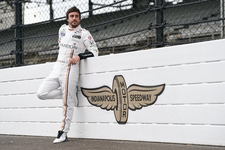 Fernando Alonso in Indianapolis