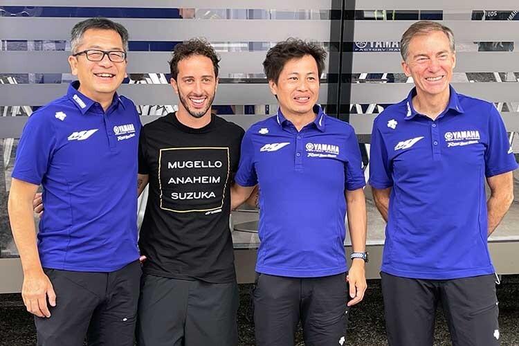Bienvenue chez Yamaha : Andrea Dovizioso