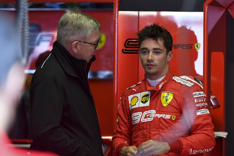 Exceptional' Charles Leclerc outdriving Ferrari's 2020 F1 car - Ross Brawn