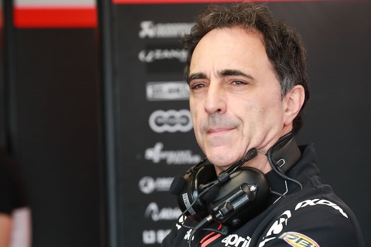 Romano Albesiano, Technical Director Aprilia