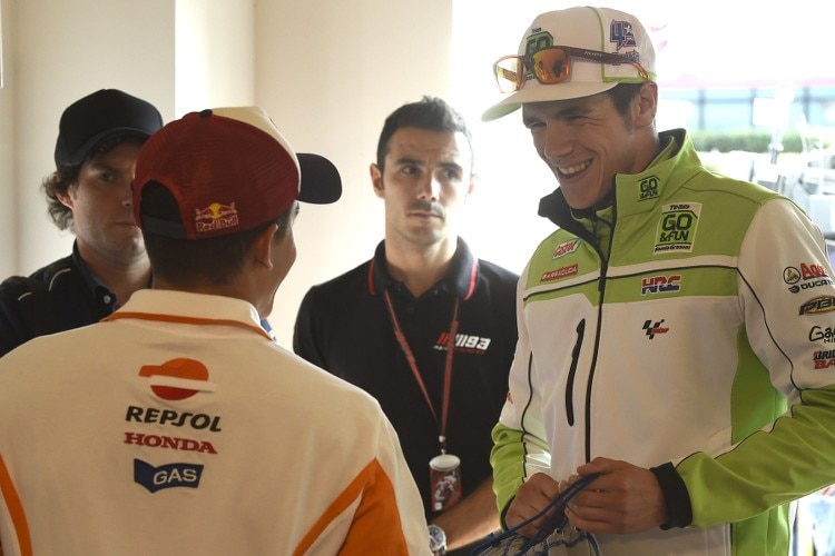 Marc Márquez und Scott Redding