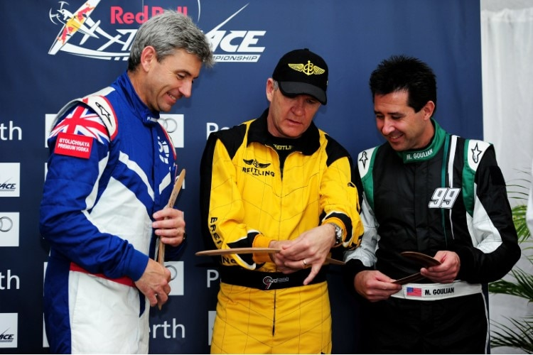Paul Bonhomme, Nigel Lamb und Mike Goulian