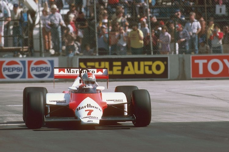 John Watson in Long Beach (USA) 1983