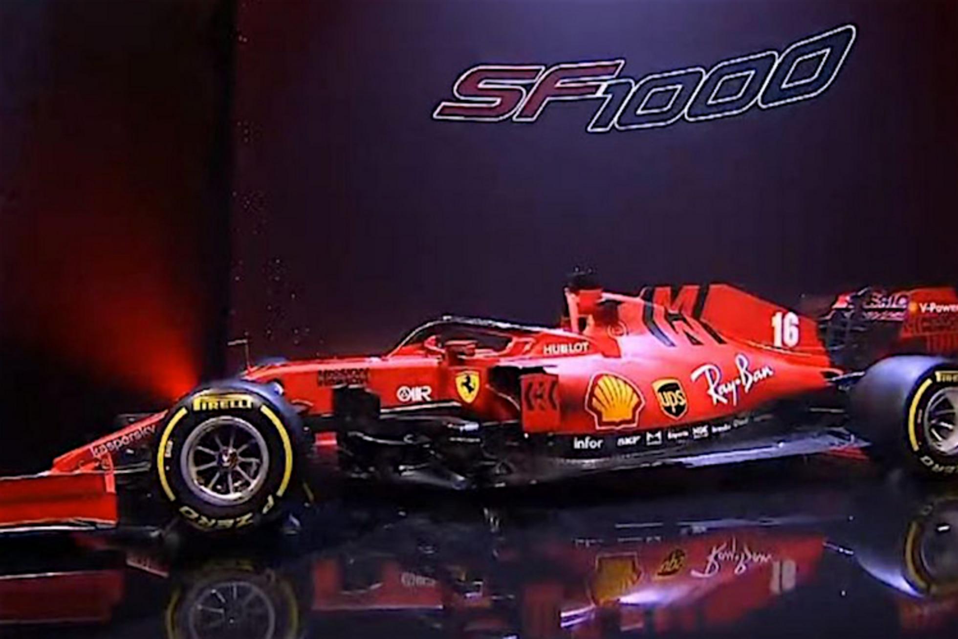 Ferrari Sf1000 Von Sebastian Vettel Erste Bilder Formel 1 Speedweek Com