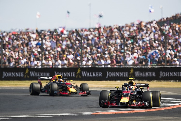 Die Red Bull Racing-Renner in Silverstone