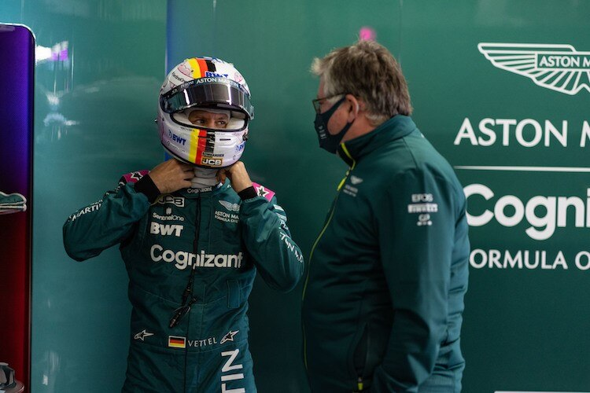 Otmar Szafnauer (Aston Martin): Vettel-Fortschritte