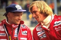 Niki Lauda und James Hunt