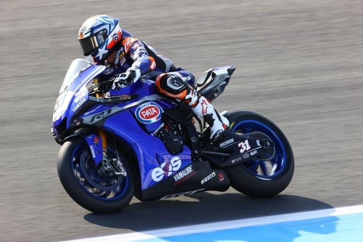 Garrett Gerloff a effectué de nombreuses manœuvres de dépassement lors de la première course de superbike