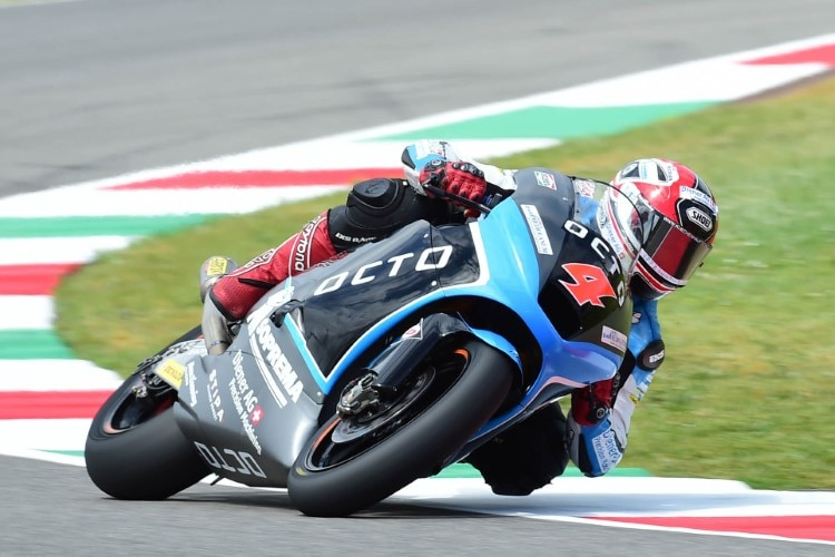Randy Krummenacher beim Mugello-GP