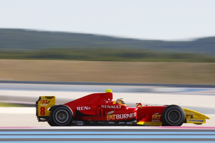 Christian Vietoris beim GP2-Test in Le Castellet