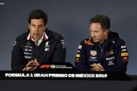 Toto Wolff (Mercedes) und Christian Horner (Red Bull Racing)