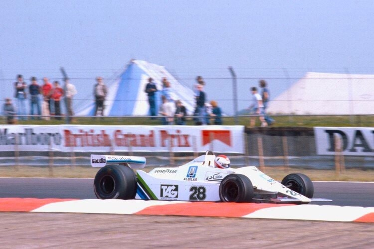 Erster GP-Sieger mit Williams: Clay Regazzoni 1979 in Silverstone