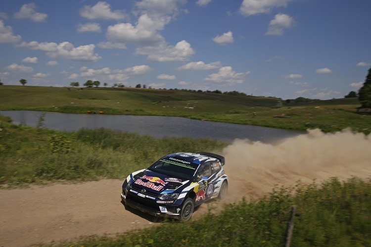Der VW Polo R WRC in Action