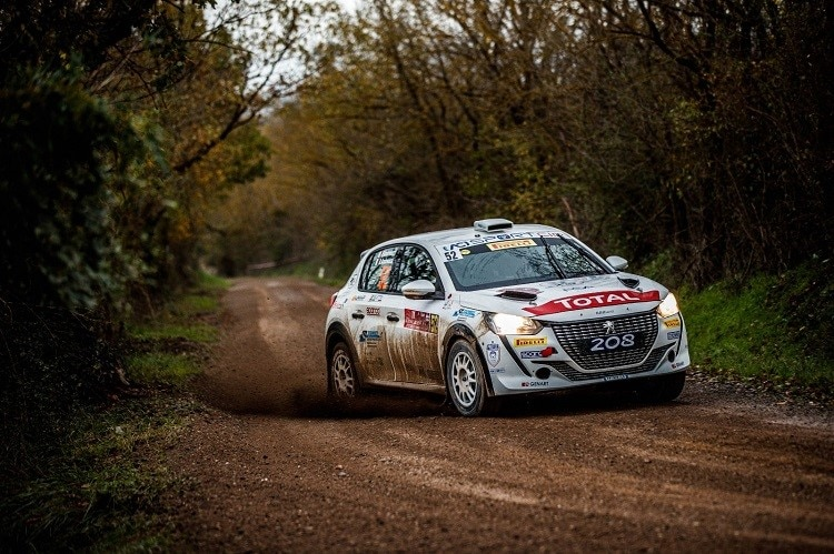 Der Peugeot 208 Rally4 in Action