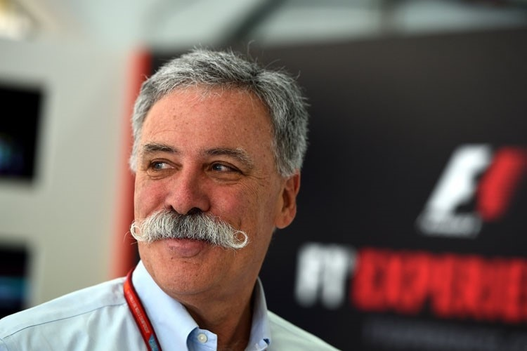 F1-Chef Chase Carey