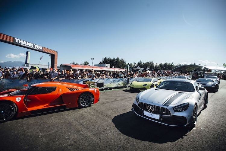 Die Supercars der «Legends Parade»