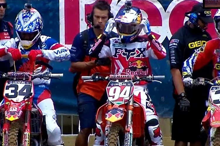 Ken Roczen am Start in RedBud