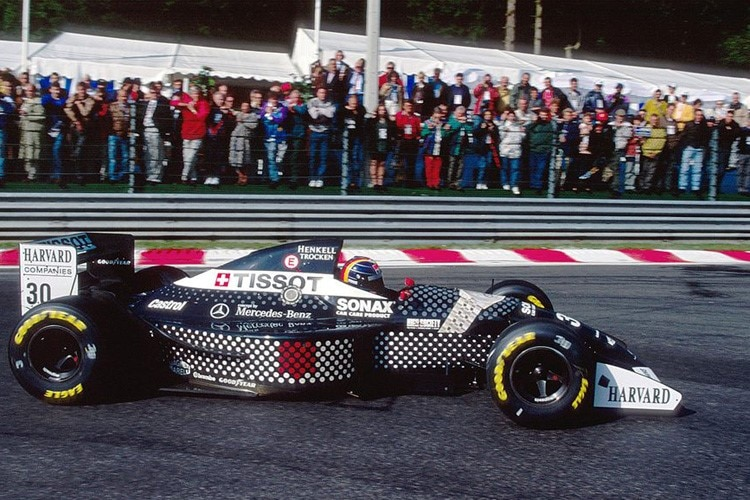 Heinz-Harald Frentzen in Spa-Francorchamps 1994