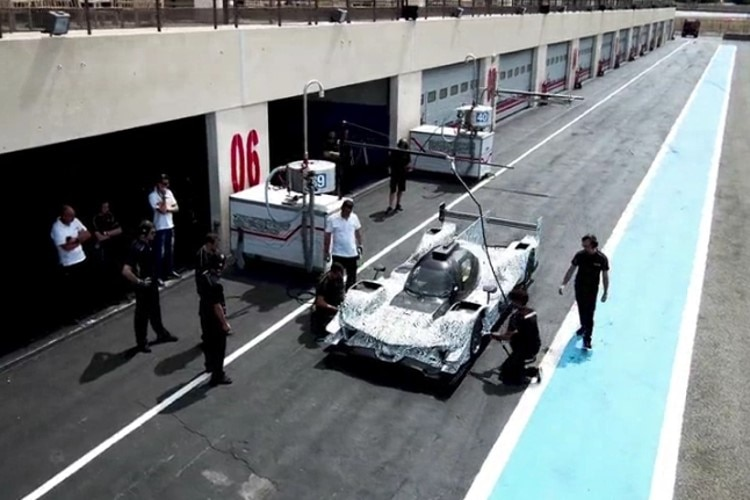 Der Acura ARX-05 DPi in Paul Ricard