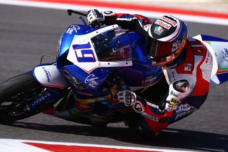 Kevin Wahr in Misano