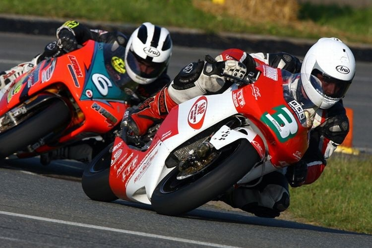 #3 Michael Dunlop und #6 William Dunlop (Archiv Frohburg 2008).