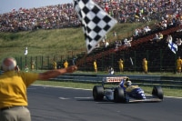 Damon Hill in Ungarn 1993