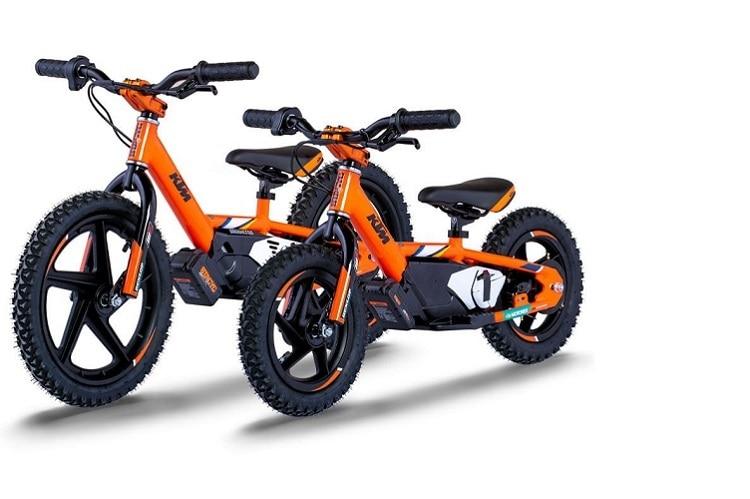 KTM Factory Replica Stacyc 12eDrive und 16eDrive: Laufräder für Kinder von drei bis acht Jahren