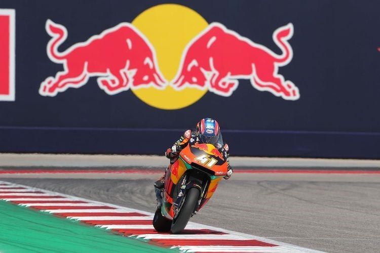 Brad Binder Austin COTA USA KTM Moto2 Red Bull Ajo