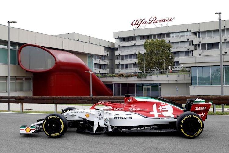 Monza im Fernsehen: Alfa Romeo im Italien-Look/Formel 1