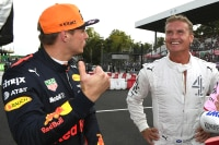 Max Verstappen und David Coulthard