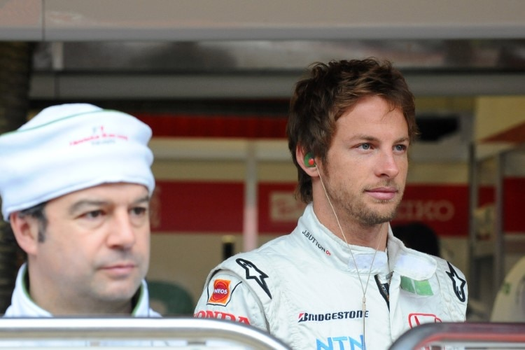 Jenson Button 2008