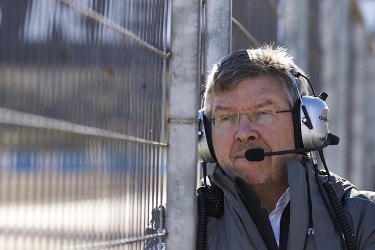 Mercedes-Teamchef Ross Brawn