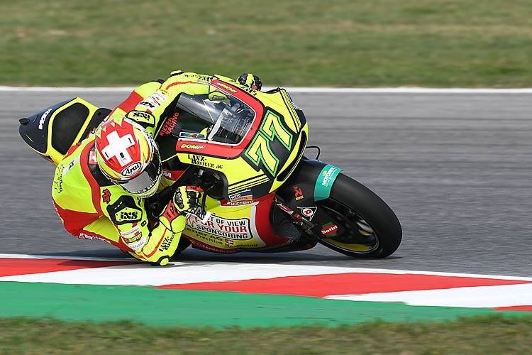 Dominique Aegerter in Misano
