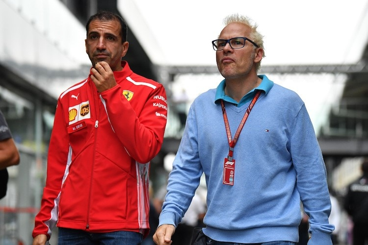 Marc Gené (links) und Jacques Villeneuve