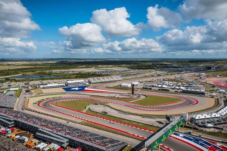Die tolle Rennanlage Circuit of the Americas