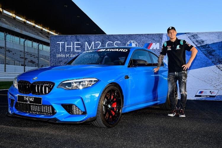 Fabio Quartararo a emmené avec lui une BMW M2 CS de Portimão