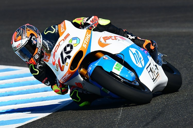 Héctor Barberá in Jerez
