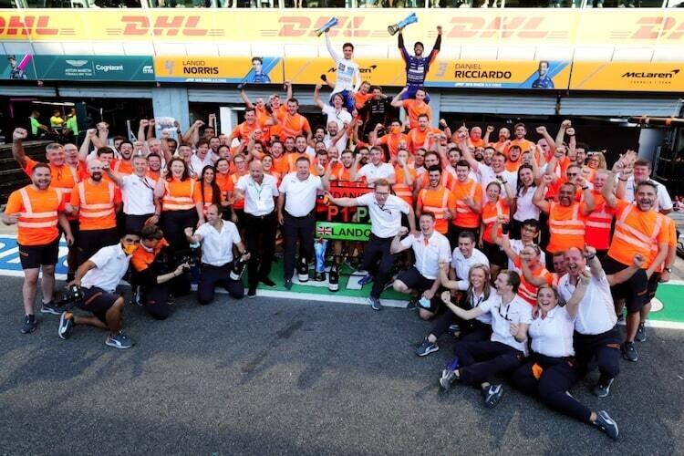 Andreas Seidl nach Monza-Sieg: «Dafür leben wir»