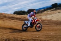 Jeff Herlings beim Training in Madrid