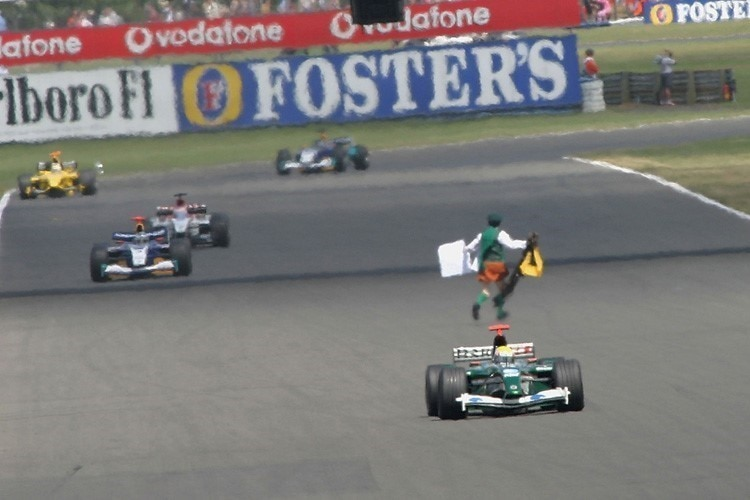 Neil Horan in Silverstone 2003