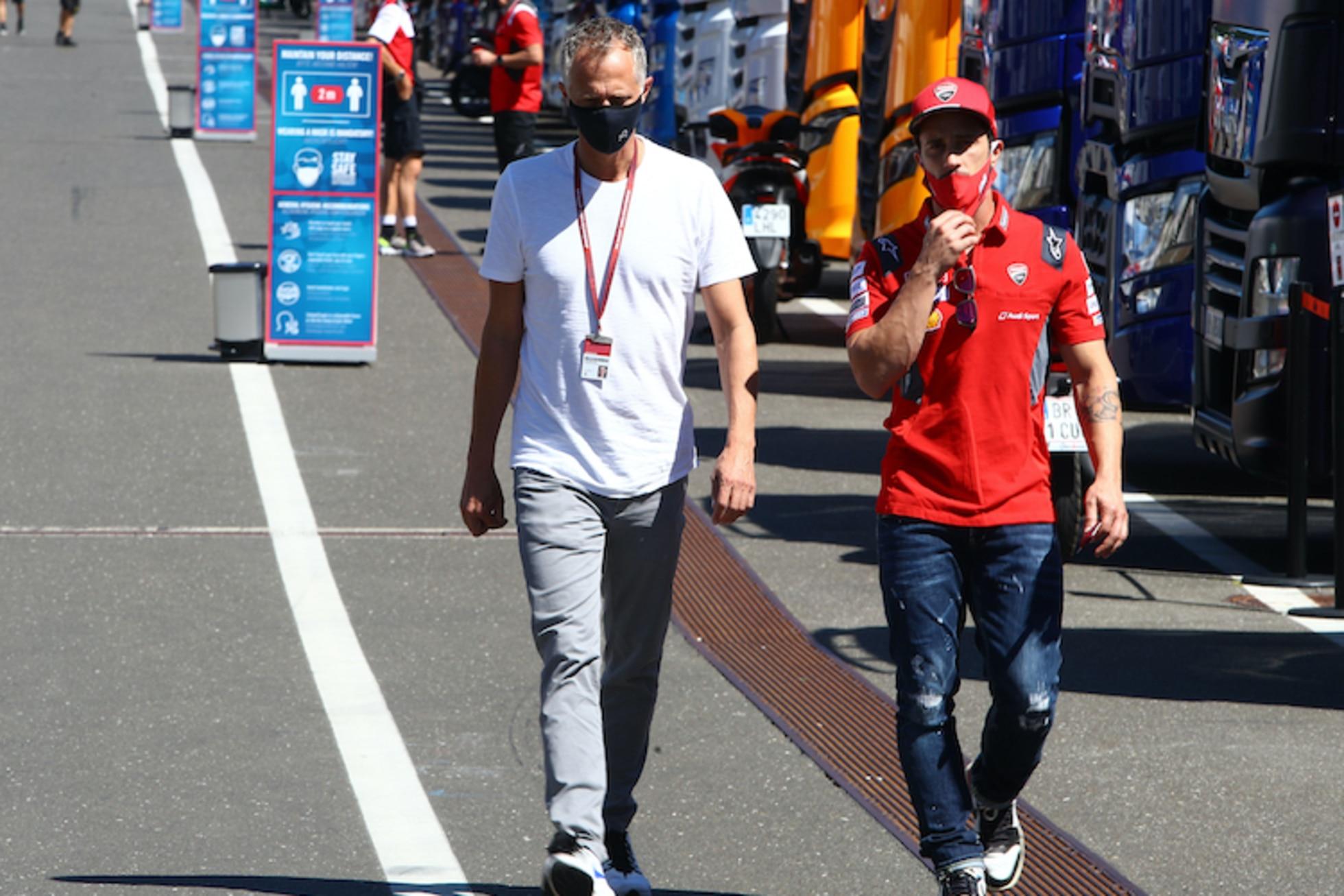 Simone Battistella: «Andrea Dovizioso ist bereit»