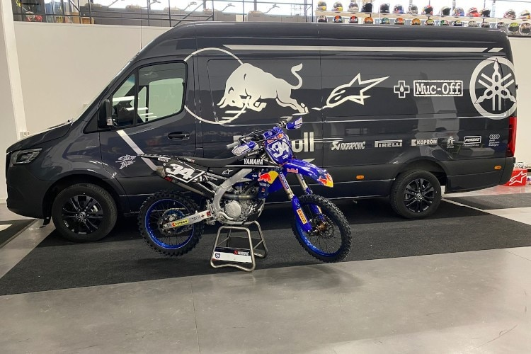 YZ250F par Andrea Dovizioso