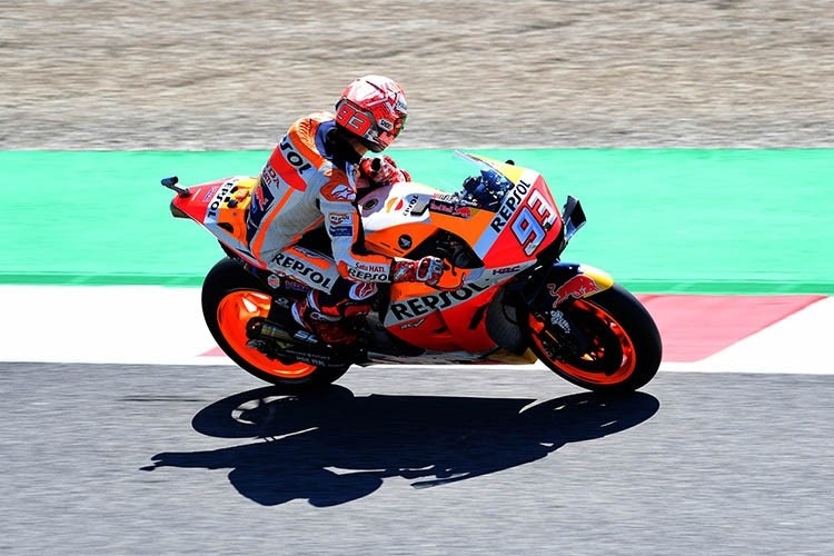 Marc Márquez im FP1 in Mugello