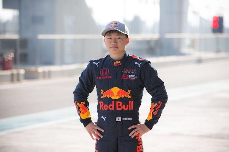 Red-Bull-Junior Yuki Tsunoda