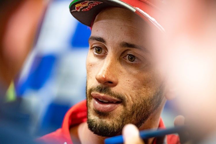 Andrea Dovizioso packt aus