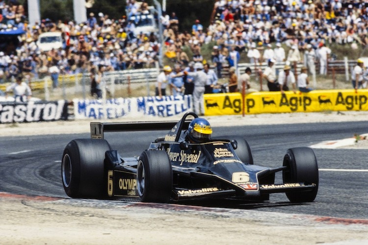 Ronnie Peterson 1978 in Le Castellet