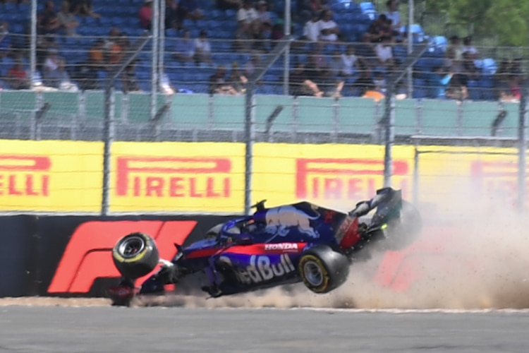 Brendon Hartley in Silverstone