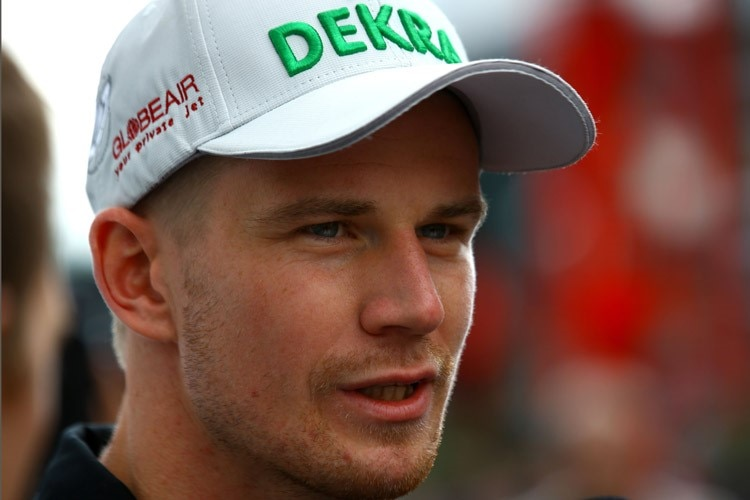 Begehrt: Force India-Pilot Nico Hülkenberg